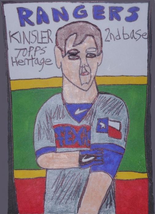 Ian Kinsler par armattock